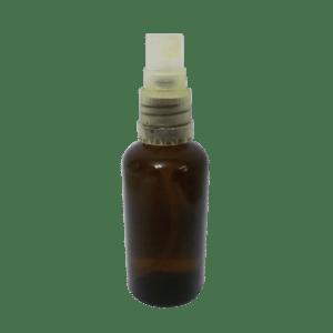 בקבוק חום ריק של שמן לידה